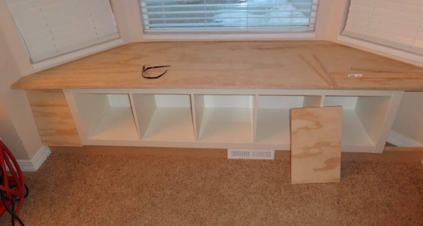 Plans Bay Window Seat Storage