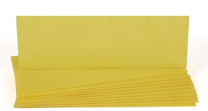 Plastic Medium Foundation Yellow Hudson Valley