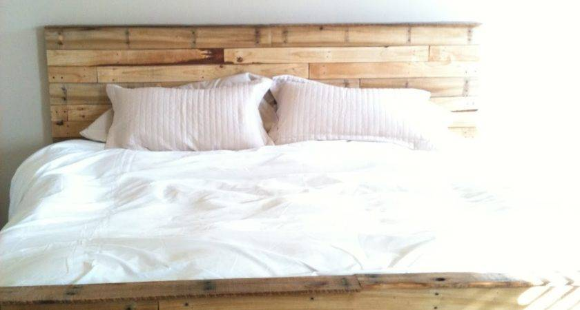 Playing House Made Our Bed Out Pallets