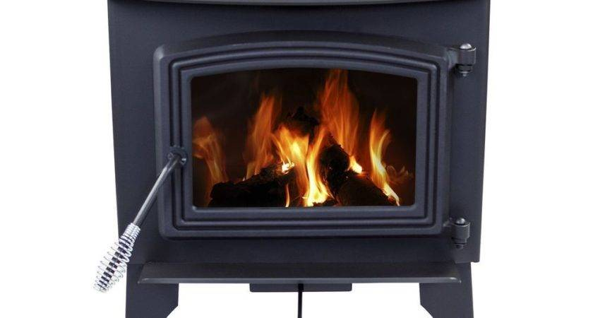 Pleasant Hearth Small Wood Burning Stove Solid Cast Iron