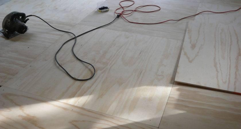 Plywood Floor Going Down Adventures Five Islands