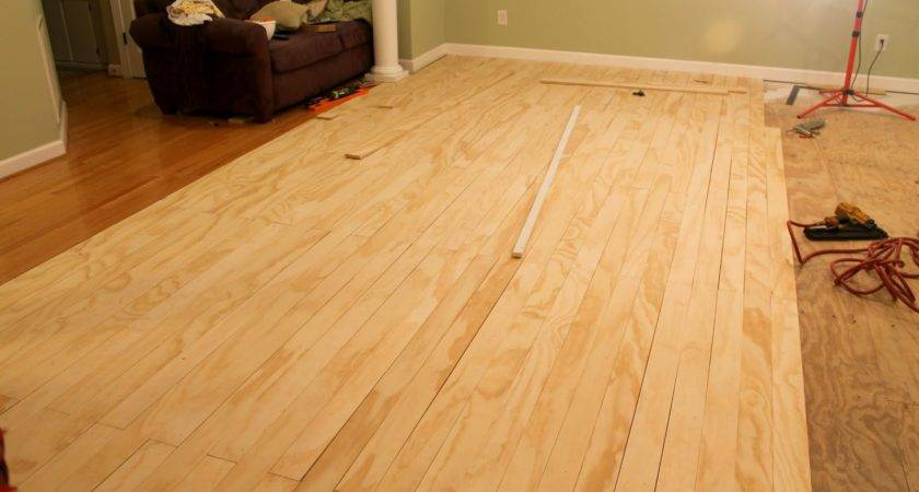 Plywood Floors