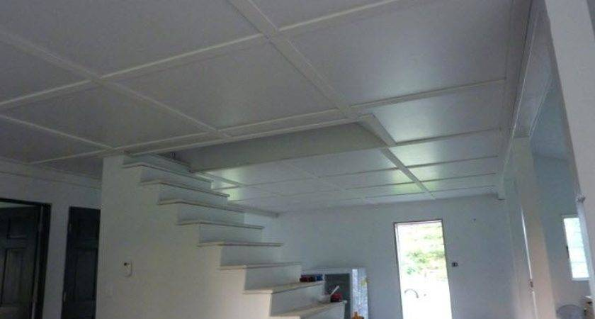 Plywood Plank Ceiling Tiles Medium