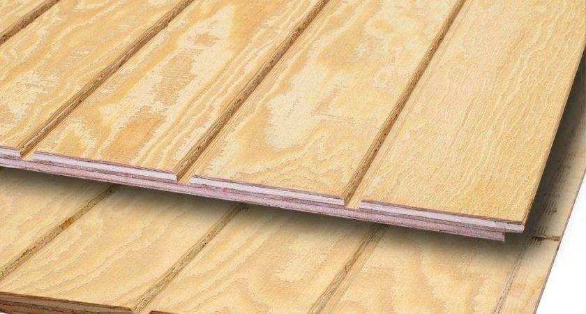 Plywood Siding Panel