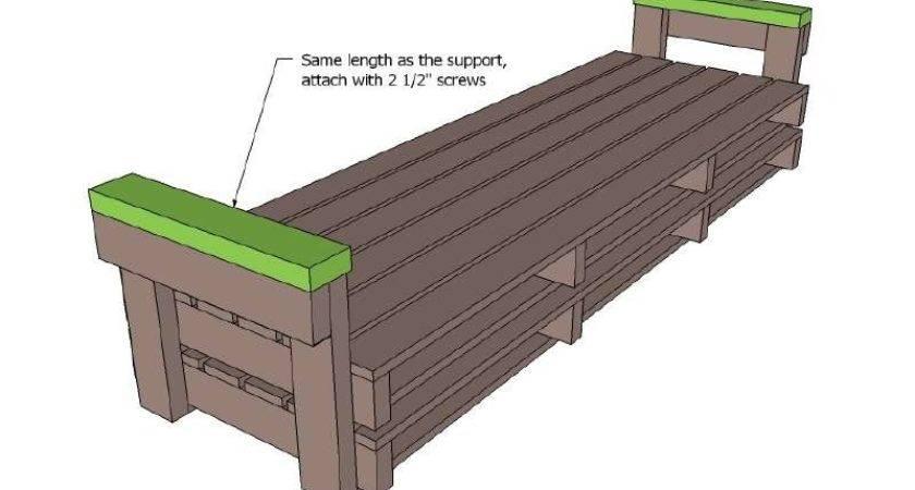 Plywood Toy Box Plans Printable Pallet Furniture