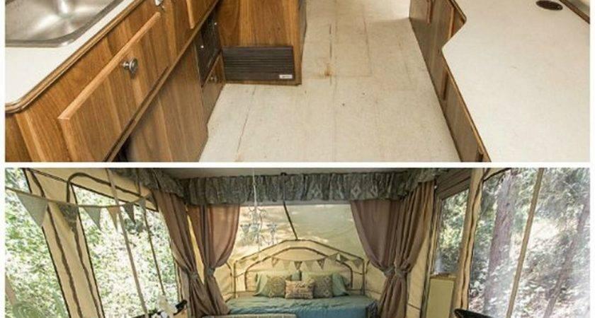 Pop Camper Makeover Ideas Budget Vanchitecture