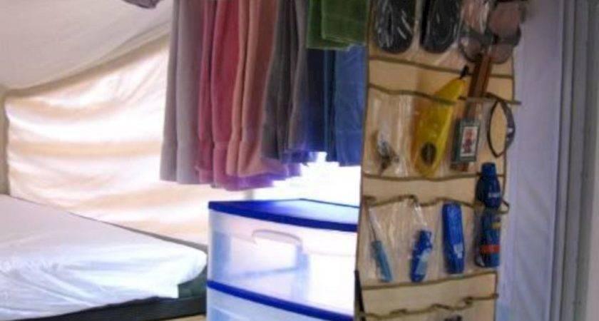 Pop Camper Storage Ideas Spaces