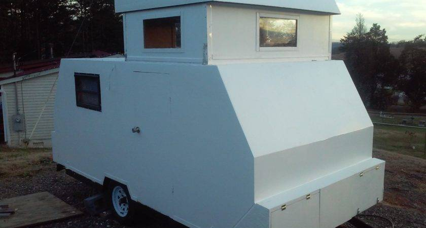 Pop Top Camper Build