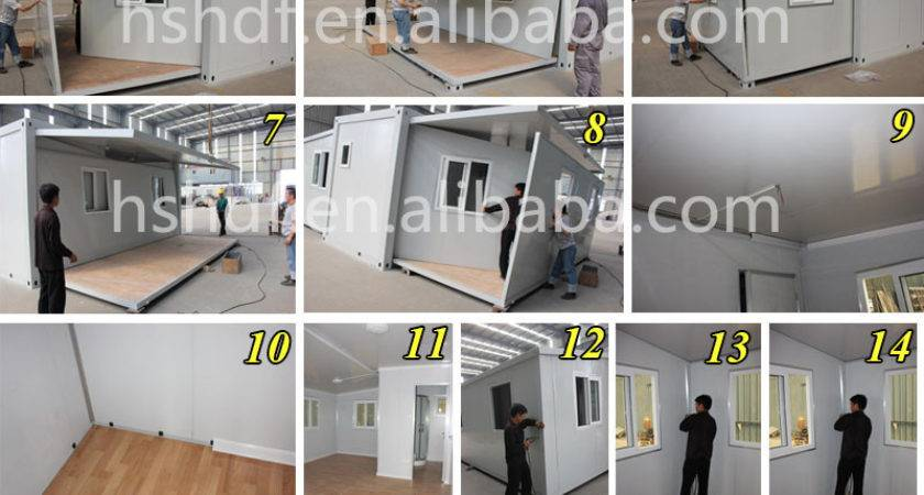 Popular Waterproof Flat Pack Mobile Home Finished Buy