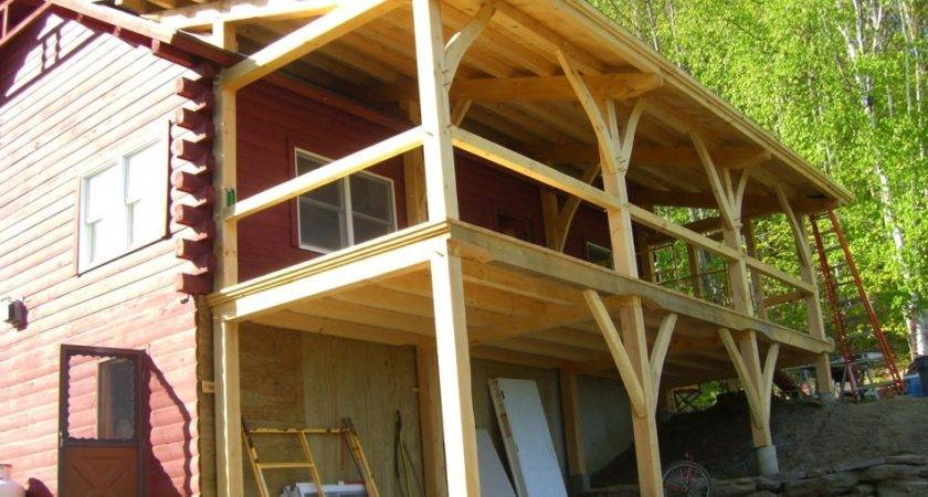 Porch Addition Shed Roof Style Home