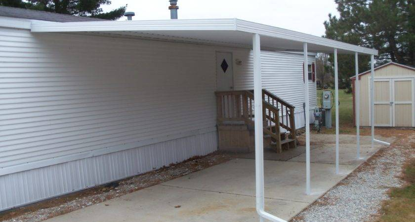 Porch Awnings Mobile Homes Homemade Ftempo
