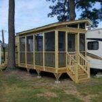Porch Camper Leisure Time Decking Greensboro
