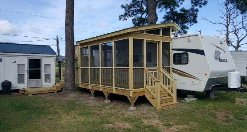 Porch Camper Leisure Time Decking Greensboro