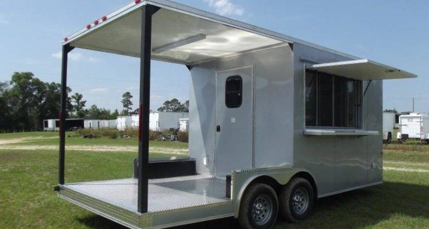 Porch Concession Trailer Electrical Custom