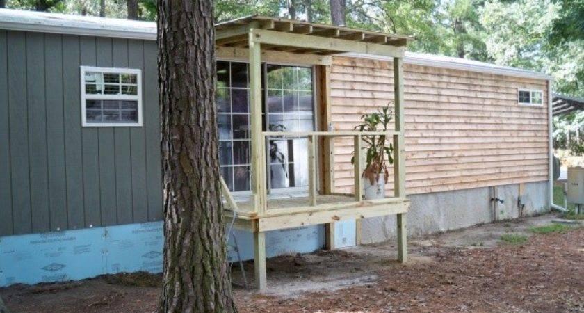 Porch Designs Mobile Homes Cavareno Home Improvment