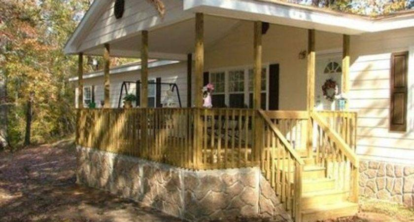 Porch Designs Mobile Homes Home Porches