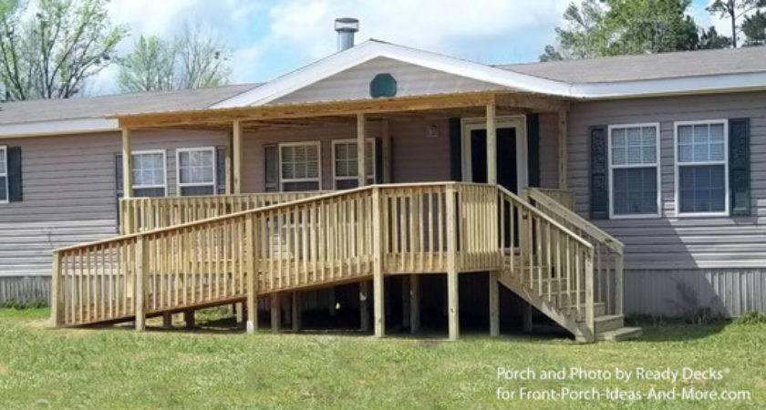 Porch Designs Mobile Homes Home Porches