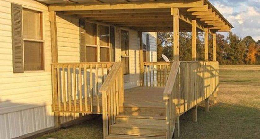 Porch Designs Mobile Homes Pinterest Flat