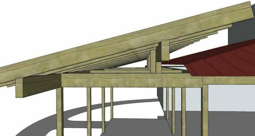Porch Roof Addition Sketchup Animation Youtube