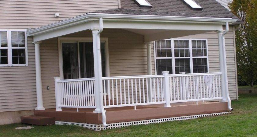 Porch Roof Could Have Relatively Low Pitch