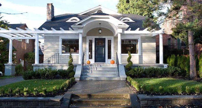 Porch Roof Designs Exterior Traditional Blue Door