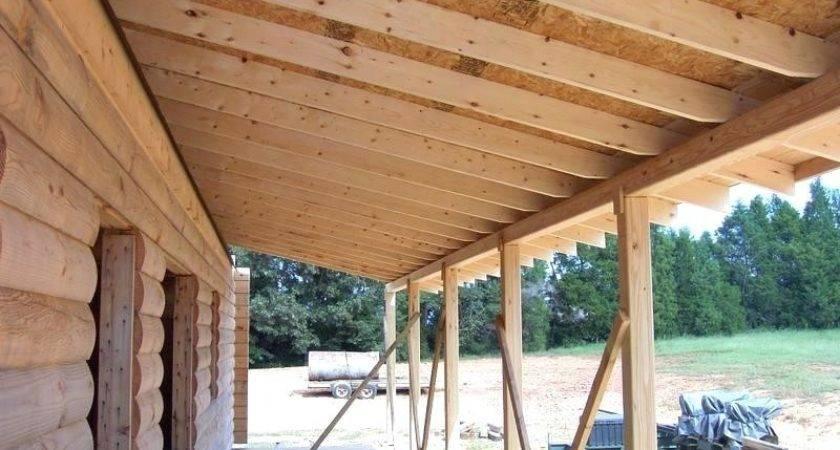 Porch Roof Plans Carlislerccar Club