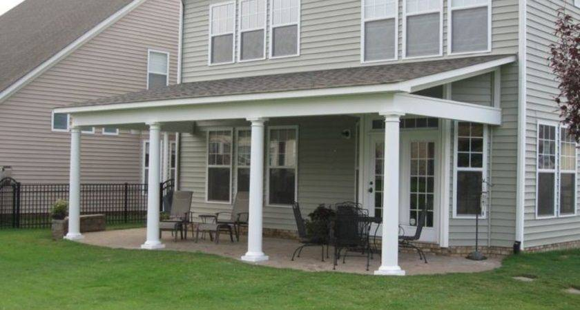 Porch Roof Types Modern Outdoor Decoration