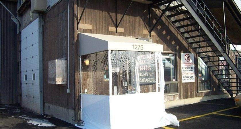 Porch Shelter Multiple Awnings