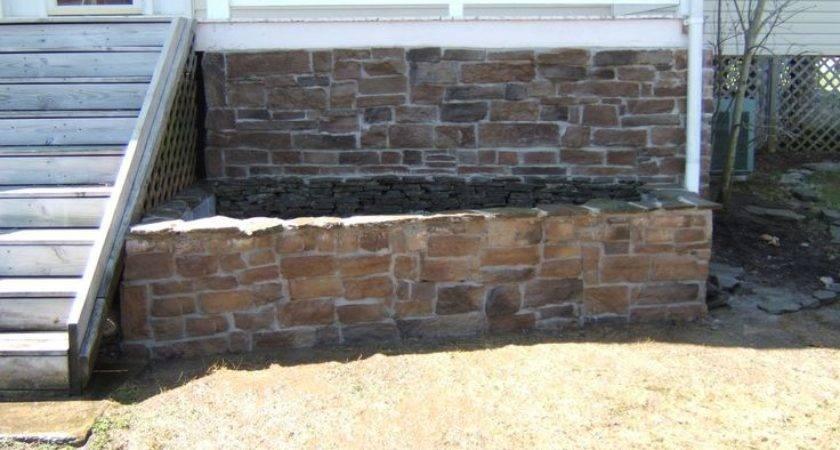 Porch Skirting Rocks Stone Veneer