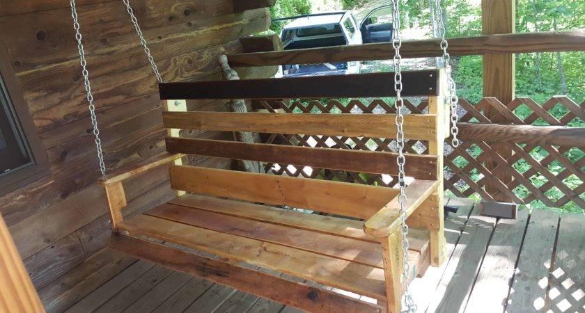 Porch Swing Pallets