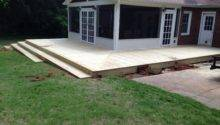 Porch Wrap Around Deck Stairs Carolina