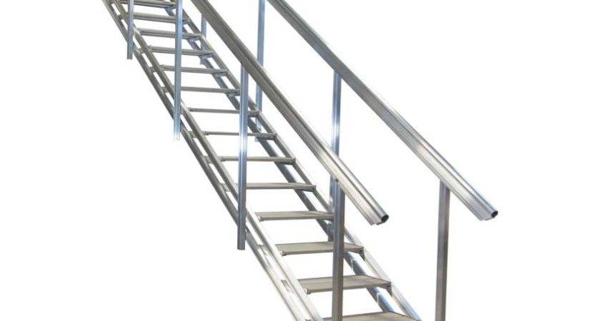 Portable Aluminum Stairs Beach Waterfront Access