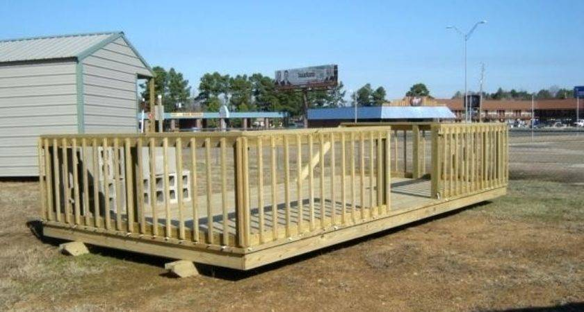 Portable Deck Above Ground Pools Decks