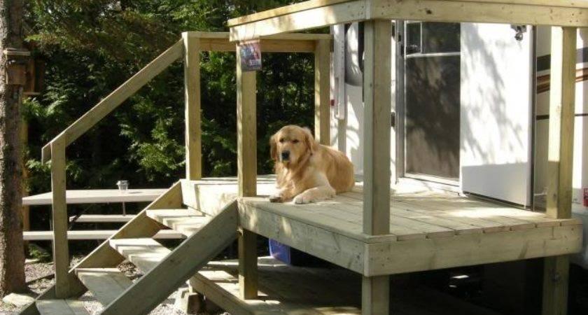 Portable Deck Ideas Wood Decking