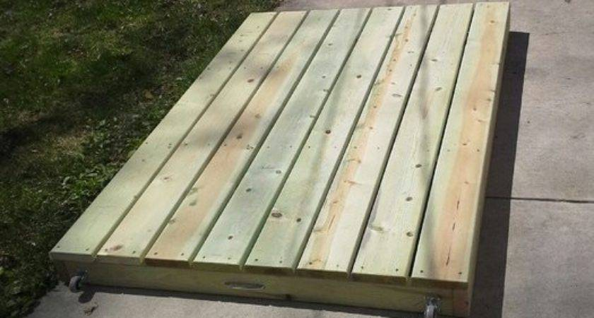 Portable Deck Oftoolsanddreams Lumberjocks