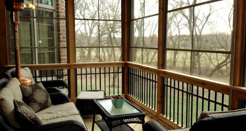 Portable Heaters Screened Porch