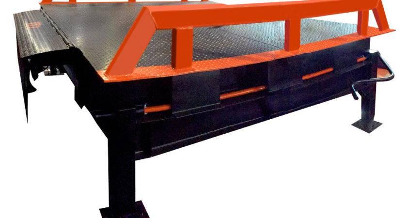 Portable Loading Dock Ramp Platform Truck