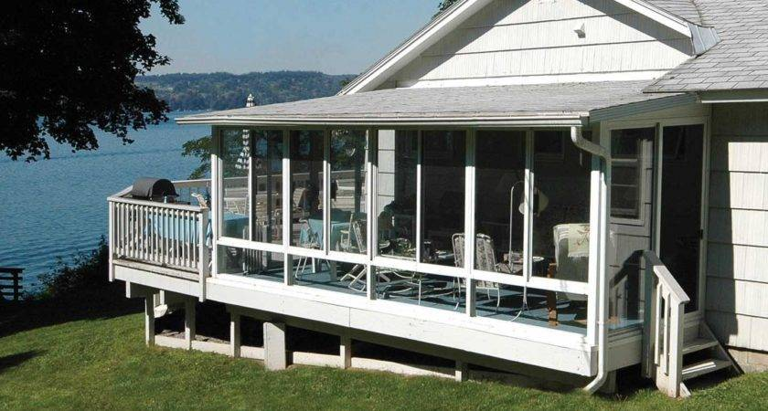 Portable Screen Porch Deck