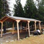 Portable Shelter Carports Near Roof Over Plans Used