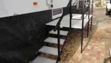 Portable Steps Decks Porches Wheels