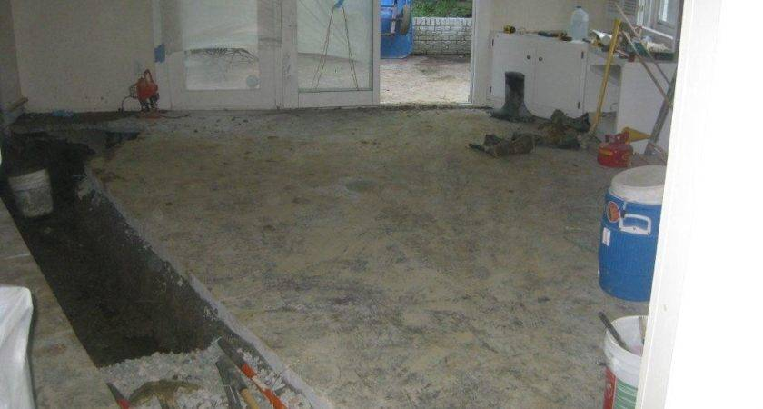 Possible Sewer Line Break Under House Foundation Gross