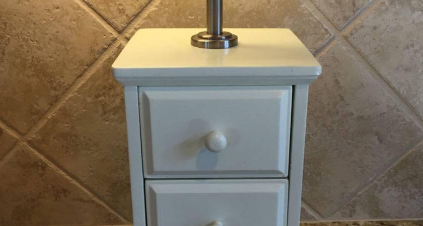 Pottery Barn Kids White Desk Drawer Lamp Base Ebay
