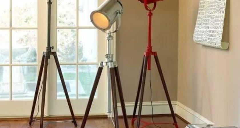 Pottery Barn Photographer Tripod Floor Lamp Amazon
