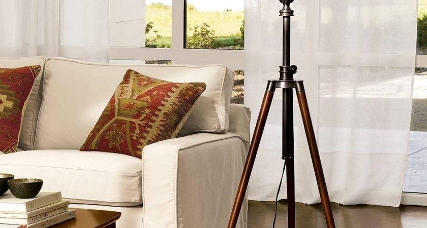 Pottery Barn Photographer Tripod Floor Lamp Copycatchic