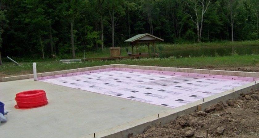 Pour Concrete Foundation