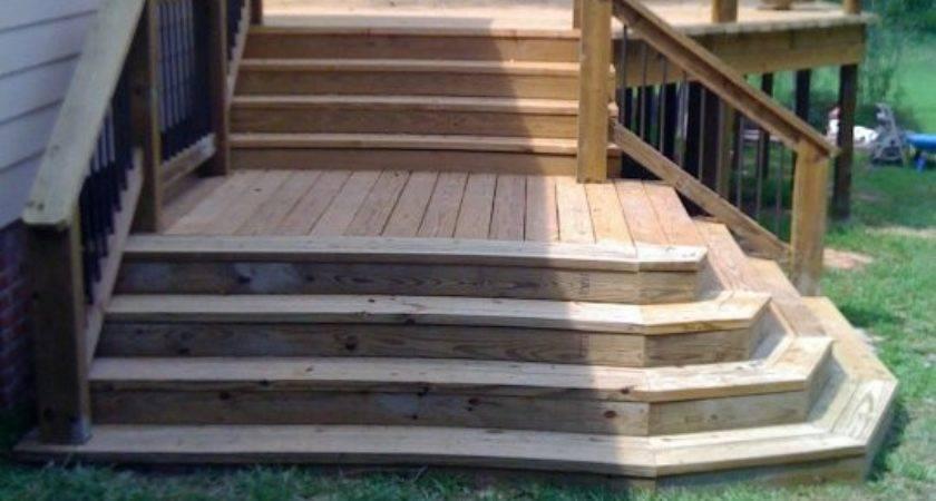 Pre Made Wood Deck Steps Home Design Mannahatta