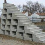 Precast Concrete Steps Yard Decorations Commercial
