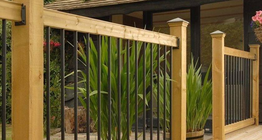 Prefab Deck Railing Best Kits Ideas