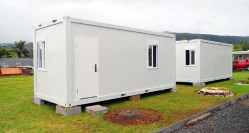 Prefab Flat Pack Container House Mobile Easy Assemble