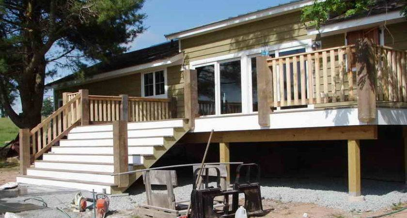 Premade Deck Footers Doherty House Porch